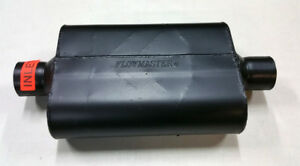 sale Flowmaster Super 44 Muffler 2 5 Center Inlet Center Outlet 13 Long