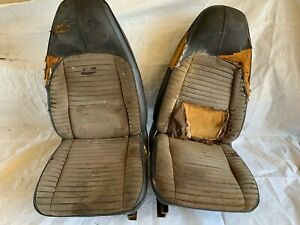 1970 1974 E Body Bucket Seats Tracks Cuda Aar Challenger Rt Ta