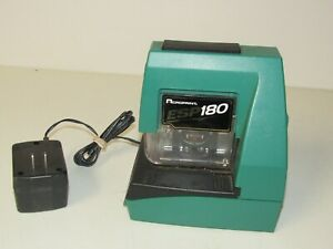 Acroprint Esp 180 Electronic Time Clock Tested Working Look Fast Free Shipping