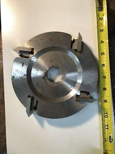 Used Shaper Cutterhead 7 Inch