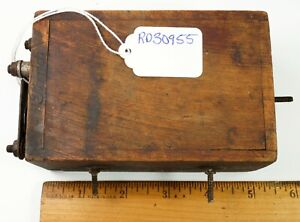 Antique Ford Model T Wooden Buzz Box Ignition Coil Ford Logo On Box