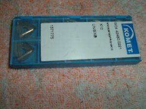 Komet W04 42480 0221 Carbide Inserts 10 Brand New Turning Factory Sealed Sweet