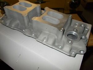 Offy Offenhauser 348 409 Chevy Hi Rise Dual Quad Intake Manifold