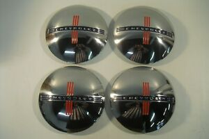 1940 1941 Chevrolet Chevy Car And Truck 1 2 To 3 4 Ton Stainless Steel Hubcaps