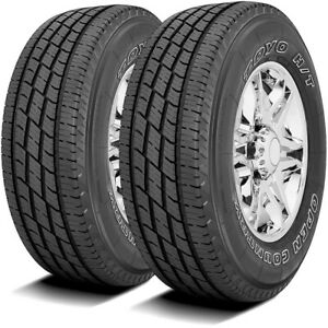 2 Toyo Open Country H T Ii Lt 265 70r17 Load E 10 Ply Owl Light Truck Tires