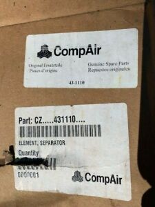 Compair 43 1110 Air oil Filter Separator Element For Use On Leroi Compressors