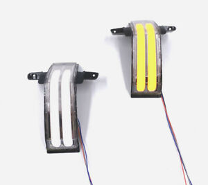 Stripes Led Switchback Mirror Lights For 14 18 Silverado Sierra Gm Tow Mirrors