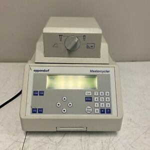 Eppendorf Mastercycler 5333 22331 Hamburg 115v With Power Cord Tested Working