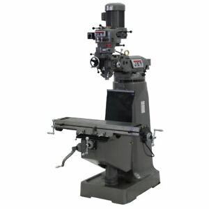 Jet 692197 Jtm 2 Mill With 3 axis Newall Dp500 Dro quill