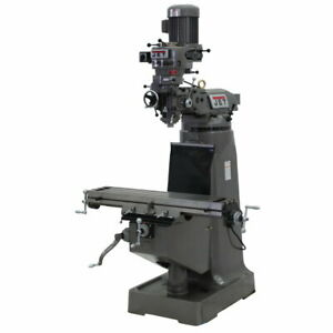 Jet 692196 Jtm 1 Mill With 3 axis Newall Dp500 Dro knee