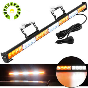 31 28 Led Waterproof Led Emergency Strobe Light Bar Traffic Advisor Flash Lamp