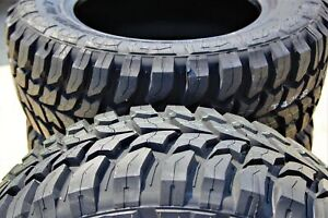 4 New Crosswind M T Lt 255 75r17 Load C 6 Ply Mt Mud Tires