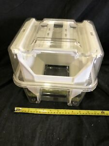 Plastic Wafer Carrier 25 Holder Km 8w2 Kmc Cpb 802 Used