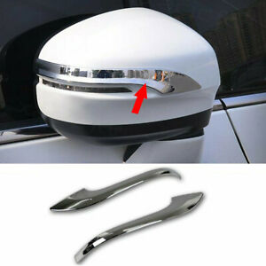 Abs Chrome Rearview Side Mirror Cover Trim Fits Honda Odyssey 2018 19 20 21 2022