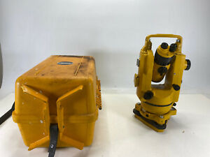 Topcon Tl 20 De Digital Theodolite Surveyor With Hard Case