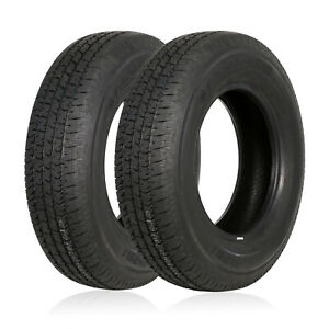 Weize St205 75r15 Radial Trailer Tire 8 Ply Load Range D 205 75 R15 Set Of 2