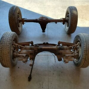 Mg Mgb Wire Wheel Front And Rear Suspension Shocks Steering Rack Differential