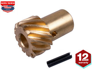 Sbc Bbc Roller Cam Hei Distributor Gear 491 Shaft Small Big Block For Chevy