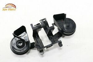 Audi A8 L High Low Tone Note Horn Signal W Bracket Oem 2011 2017 set