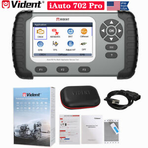 Vident Iauto 702pro Obd2 Scanner Auto Diagnostic Tool Tpms Immo Injector Coding