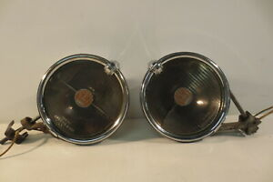 Vintage Pair Trippe Speedlight Safety Lights 1930 S Accessory Cadillac Packard
