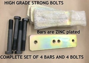 Replacement Chief Frame Machine Fastener Bar S Includes Set Of 4 Hi Grade Bolts