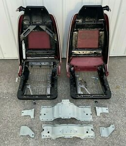 1970 S Gm Recliner Bucket Seats Tracks X Body Nova Ss Ventura Gto Skylark Omega