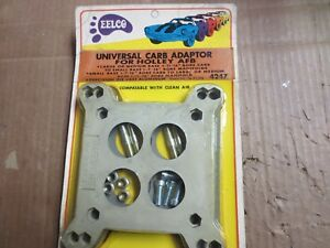 Carb Adaptor Bbl Afb To Holley New Old Stock