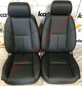2010 2013 Chevrolet Silverado Wt Crew Cab Black Leather Seat Covers Replacement