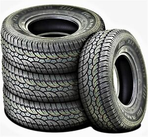 4 New Americus All Terrain Lt 285 75r16 Load E 10 Ply At A t Tires