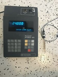 Fisher Scientific Accumet Ph Meter 925 Inlcudes Probe Tested Ready