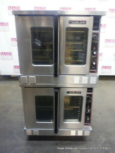 Garland Mco es 10s Electric Double Stack Convection Oven 208 Volts 1 Phase