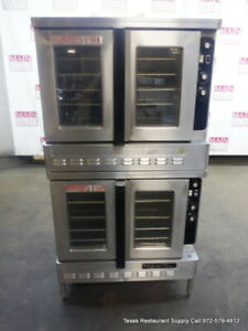 Blodgett Dfg 100 3 Gas Double Stack Full Size Convection Oven