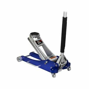 Arcan 2 ton Quick Rise Aluminum Floor Jack With Dual Pump Pistons Reinforce