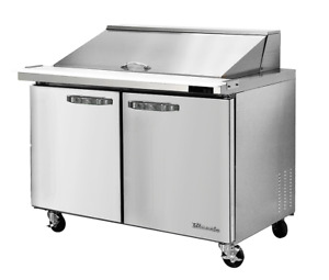 Blueair Mega Top Two Door 36 Refrigerated Sandwich salad Prep Table Blmt36 hc