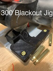 300 Blackout Cut off Trimming Jig Brass Case Trimmer Tooling Super Deluxe $18.00