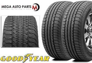 2 Goodyear Fortera Hl P245 65r17 105t All Season Touring Cuv Suv M s Rated Tires