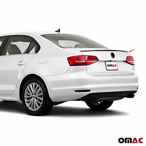 For Volkswagen Jetta 2015 2019 Rear Trunk Lip Wing Spoiler Black Style