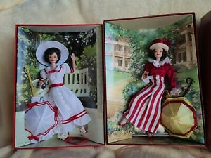 Barbie Coca-Cola Doll Collector Edition 2nd  and 3rd In The Series Lot of 2