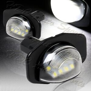 For 2011 2020 Toyota Sienna 6000k 18 Smd White Led License Plate Lights Lamps