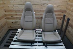 Set 2 Front Left Right 2 way Manual Sport Seat Porsche 981 Boxster Cayman 13 19