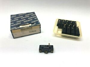 Honeywell Bz 2rs a2 Plunger Style Micro switch Lot Of 10