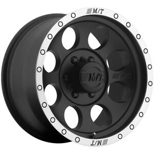 Mickey Thompson Classic Baja Lock 17x9 5x5 12mm Matte Black Wheel Rim 17 Inch