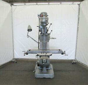 Bridgeport Vertical Ram Type Milling Machine Id M 090