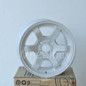 1 Pc Only Rota Wheel Grid Concave 15x8 4x100 20 White