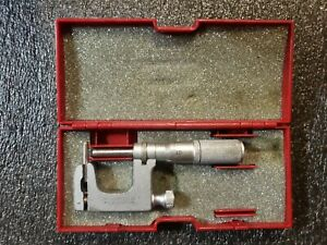 Starrett No 220 Multi Anvil 0 1 Micrometer