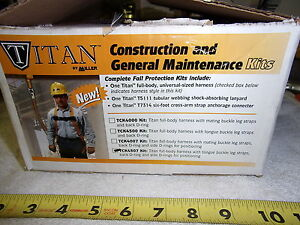 Miller Tck4507 Titan Fall Protection Kit New Made In Mexico