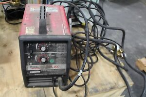 Lincoln Electric Wire Feed Mig Welder Sp 100