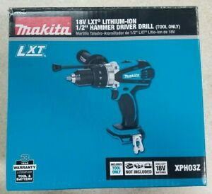 Brand New Makita Xph03z 18 volt 1 2 inch Hammer Driver Drill Tool Only