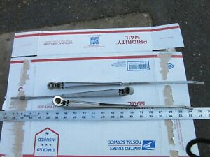 Vintage Trico Dots 3 Wiper Arms Bayonet Rare Adj Length On One Chevy Ford Dodge